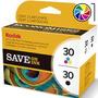 Cartuchos Kodak 30 Combo Negro + Color Esp C110 C310 2150