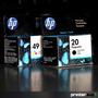 Hp 20 + 49 Combo Originales 610 612 630 632 640 - Printersup