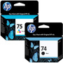 ¡combo! Cartucho Original Hp 74 (negro) + Hp 75 (color)