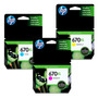 Cartuchos Hp 670xl Color Original 3525 / 4615 / 4625 Gtia