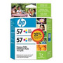 Cartucho Hp C9320fl-hp 57 Twin Pack-hp57 Empaque Doble