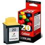 Cartuchos Lexmark #20 Lexmark 15m0120 Color Original