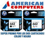 Combo De Cartuchos Hp 662 Negro Y Color Originales 3515 251