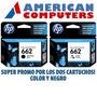 Combo De Cartuchos Hp 662 Negro Y Color Originales 3515 251