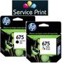 Promo Hp 675 Negro + Color Cn690al Cn691al Originales