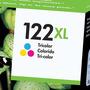 Hewlett Packard Inkjet Hp 122xl Color Ch564hl Tricolor