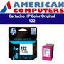 Cartucho Hp 122 Ch562hl Tinta Color Original En Caja Cerrada