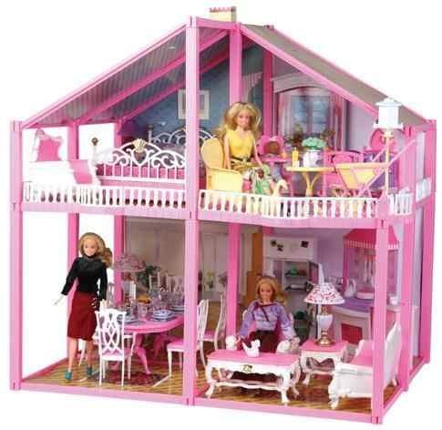 Casa De Muñecas Grande Gloria Imperdible!!! - $ 899,99 en MercadoLibre