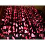 Cortina Colgante Petalos De Rosa De Papel Unico Calidad
