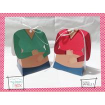 Souvenirs Eventos Baby Shower Caja Personalizada Embarazada