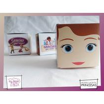 Souvenirs Personalizad Evento Cumpleaños Caja Princesa Sofia