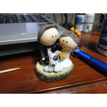 Souvenirs De Casamiento - Novios En Porcelana Fria