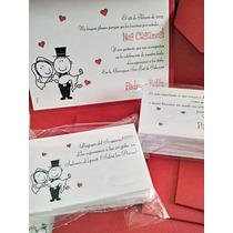 Participaciones, Invitaciones, Tarjetas De Casamiento!