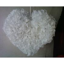 Piñata Corazón Guirnaldas Flores De Papel De Seda