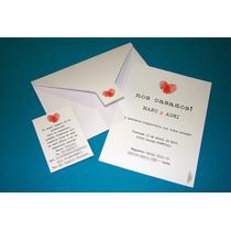 Invitaciones Tarjetas Casamiento (sobre+tarjeta+personal)