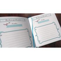 Libro De Firmas P/ Casamiento Handmade Guestbook Papel+papel
