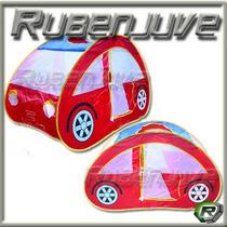 Casita Auto Plegable Infantil Juegos Pelotero Carpa