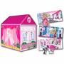 Carpa Casita Fashion Barbie 2 En 1 Original Tv La Horqueta