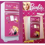 Heladera De Barbie Glam Original, Miniplay Tv