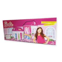 Barbie Casita Fashion 2en1 Para Jugar Con Amigas Y Muñecas