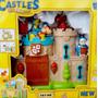 Castillo De Juguete Con Luz Y Sonido Dragón Y Caballeros