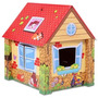 Casa Casita Infantil Hecha En Carton Duro Palermo Z Norte
