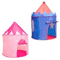 Castillo Plegable Para Niños Carpa Casita Pelotero Princesas