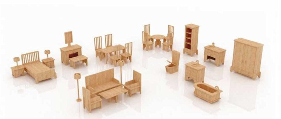 Accesorios para casita de mu ecas imagui for Armar muebles de mdf