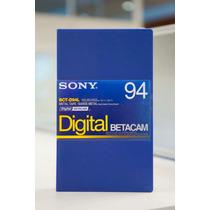 Tape Cassette Betacam Digital 94 Min Nuevo