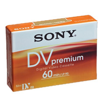 Cassette Minidv Sony Premium - Distribuidores Oficiales