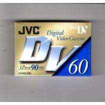 Jvc Digital Video Cassette Dvm60me Modo Lp 90 Min Minidv