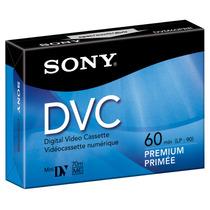 Cassette Mini Dv Sony Dvm60prr Sp 60 Minutos X5 Unidades