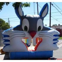 Castillo Inflable Bugs Bunny + Turbina De Regalo! Macjuegos