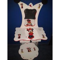 Tocador Para Nenas Minnie Mickey Princesas Barbi Navidad