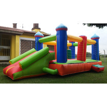 Inflable 6 X 3 (castillo 4x3/tobogan/turbina/calidadgarantia