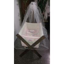 Catre Nuevo Sin Uso Para Bebe. Incluye Colchón Y Almohada.