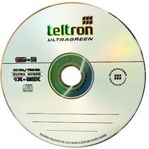 Cd-r Teltron Ultragreen Bulk X25 Unidades - Temperley