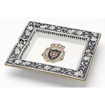 Cenicero De Porcelana (escudo Del Castillo De Versalles)