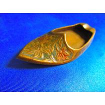 El Arcon Cenicero Zapato De Bronce 8 Cm 7522
