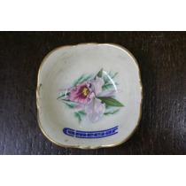 Cenicero De Ceramica Motivo Flor Pequeño