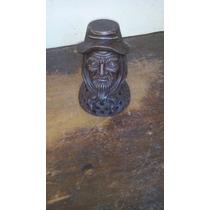 Adorno Gaucho Ceramica Terracota Decorativo