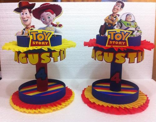 Centros De Mesa Toy Story, Cars, Baby Tv, Princesas - $ 85,00 en ...