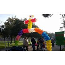 Arco De Globos - Centros De Mesa - Decoración Con Globos