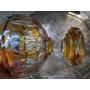 Copon De Cristal Antiguo Tallado