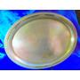 El Arcon Antigua Bandeja Oval Baño Plata La Lira 45cm 3516