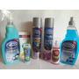 Kit De Limpieza Automotor Silisol Shampoo Cera Silicona Etc