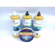 Kit Tratamiento Acrilico 3m A,b,c,+ Cera Paste Wax