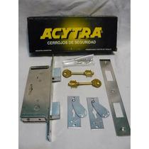 Cerrojo Acytra 401 Caja Angosta Ideal Para Rejas