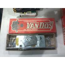 Antiguo Vintage Nuevo Cerradura Seguridad Van Dos 515 La Pla