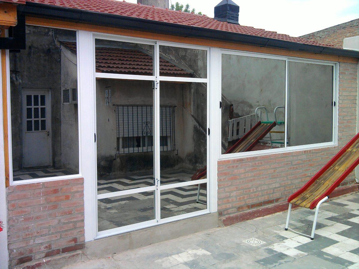 Cerramientos de jardines fotos dise os arquitect nicos for Cerramiento aluminio terraza
